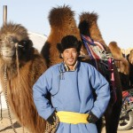 Proud camel jockey